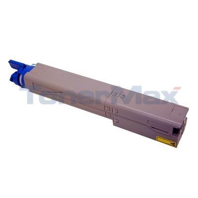 MEDIA SCIENCES TONER CARTRIDGE YELLOW HY FOR OKIDATA C3400N 